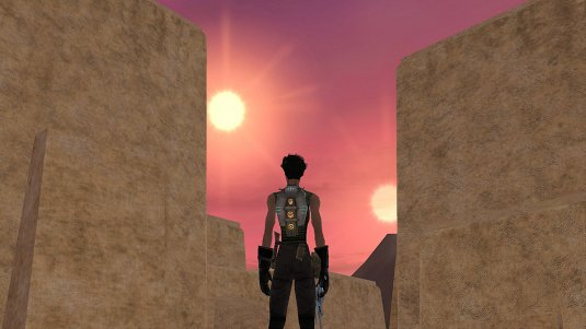 Tatooine Sunset in Star Wars Galaxies